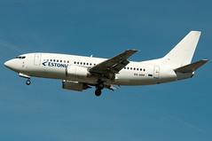 ES-ABP Estonian Air Boeing 737-500 London Gatwick (rmk2112rmk) Tags: plane airport aircraft aviation air boeing airliner gatwick airliners estonian lgw estonianair civilaviation 737500 egkk esabp