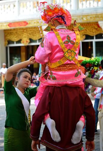 Day 1: Poy Sang Long Festival, Chiang Mai