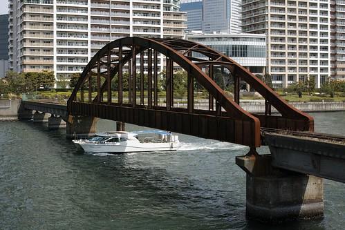 晴海橋梁(Harumi bridge)