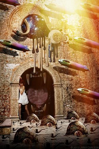 LARRY CARLSON, Doorway to the Beast, 2015.