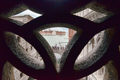 Inside the Bridge of Sighs, Venice