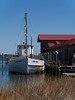 The Oyster Boat (Laszlo#13) Tags: pier boat dock maryland shipping saintmichaels