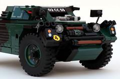 Daimler Ferret Scout Car (bricktrix) Tags: lego armour legocar armouredcar daimlerferret legomilitary ferretarmouredcar