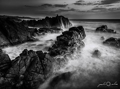 Labruge (paulosilva3) Tags: bw seascape storm canon landscape eos big lee filters stopper waterscape 6d polariser longexpos labruge