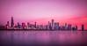 Good Morning Chicago! (Perry McKenna) Tags: longexposure chicago glass skyline buildings shoreline lakemichigan shore morningglow pinkglow donatelife planeterium marblesurface