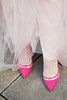 Fairy princess Cinderella style: Floor length tulle skirt, pink pointed heels | Evening wear, gown, dress | Not Dressed As Lamb (Not Dressed As Lamb) Tags: pink sparkles ball evening glamour ballerina crystals dress top skirt redhead prom crop cinderella gown blush sparkly tulle tutu glamorous
