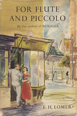 For Flute and Piccolo (54mge) Tags: fiction book novel dustjacket wernerlaurie