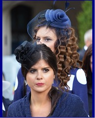 10 May 2016: Garden party at Peles Castle, Sinaia, Romania (2) (Ioan BACIVAROV Photography) Tags: blue girls woman history girl beautiful hat fashion wonderful interesting glamour women anniversary moda fete mode fille filles photostream castel ceremonies fata elegance peles sinaia aniversare festivitate pelescastle 150years wonderfulphoto palarie istorie regalitate ioanbacivarov bacivarov 10mai2016 10may2016 150ani