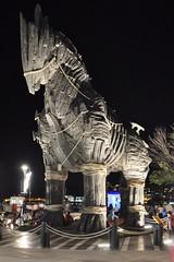 Truva Horse (serdarsaver) Tags: horse history night truva dardanel