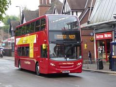 National Express West Midlands 4855 BX61 LML on 907 (sambuses) Tags: 4855 nationalexpresswestmidlands nxwm bx61lml nxbus