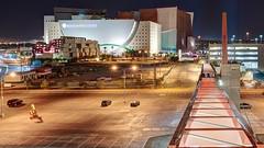 Walk on By (Motel George) Tags: cityhallpedestrianbridge lasvegaspedestrianbridge worldmarketcenter