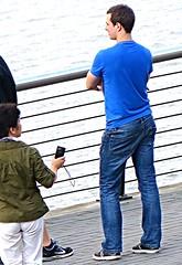 (ManontheStreet2day) Tags: boy ass butt tshirt twink jeans bluejeans
