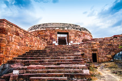 Fort top (tirumala nalla) Tags: india architecture ancient fort karnataka hindu hilltop badami