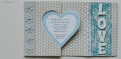 love 1/4 (bkp77) Tags: wedding love scrapbooking heart christening herz liebe hjrta dopkort krlek hochzeitskarte brllopskort taufkarte