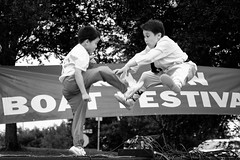 Dragon Boat Festival - 3 (-Dons) Tags: boy austin fly texas unitedstates kick wushu dragonboatfestival kcik festivalbeach austindragonboatfestival