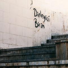 IMG_4515.JPG (esintu) Tags: wall writing steps stairs minimalist minimalism simple gaziantep turkey turkiye