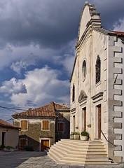 Oprtalj church (senza senso) Tags: church croatia istria