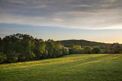 Beautiful May evening (Keartona) Tags: summer evening beautiful landscape countryside charlesworth field woods hills sky sunset green england english derbyshire sunlight