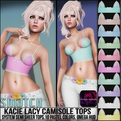 Sn@tch Kacie Lacy Camisole Tops Vendor Ad LG (Tess-Ivey Deschanel) Tags: life new costumes summer sexy beach spring clothing punk designer omega style clothes sl jeans secondlife tropical second casual marketplace bathing outfits bathingsuit cyberpunk swimwear bikinis snatch camisole specials deschanel ivey newrelease clubwear newreleases sntch ihearts iveydeschanel omegasystem omegaappliers bellezabody