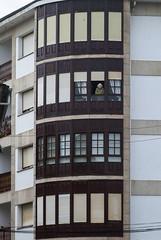 Oteando (Oscar F. Hevia) Tags: windows espaa window look ventana spain balcony lookout ventanas galicia balconies peek gaze glance lugo balcn mirador atalaya watchtower regard mirando balcones ribadeo asmate otenado