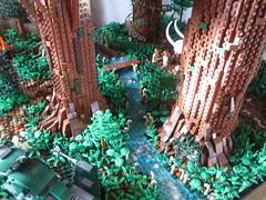 Ewokdorf - Bachlauf 01 (KW_Vauban) Tags: starwars lego endor ewokvillage episodevi thereturnofthejedi