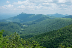 View from Elk Knob, NC (jeancflanagan) Tags: mountains green nc hiking boone