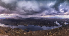 Stormy Weather (bradders29) Tags: clouds scotland highland summit rainstorm deluge suilven stom assynt quinag lochassynt canisp spideancoinich