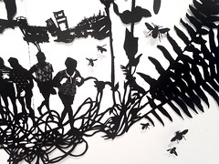 MBosley_LostBoysdetail (TheWayThingsWere) Tags: silhouette paperart silhouettes papercut papercuts papercutting mollybosley