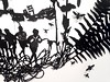 MBosley_LostBoysdetail (TheWayThingsWere) Tags: silhouette paperart silhouettes papercut papercuts papercutting mollybosley