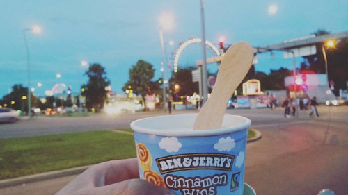 Here for the cinnamon ice-cream 🍦 #wien #vienna #benandjerrys