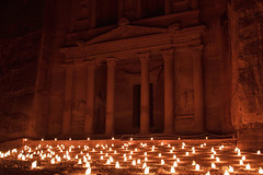 Al-Khazana light up (Ravi Raj R - 3R) Tags: petra jordan rrr alkhazana