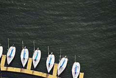WTC Observatory boats (sandytaylornyc) Tags: nyc usa newyork water sailboat boats boat lookingdown sailboats