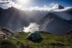 Room with a view (bradders29) Tags: skye scotland y tent highland cuillin wildcamping lochcoruisk sgurrnastri grahambradshaw