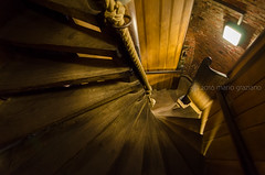 Les escaliers du Beffroi de Bruges (Mario Graziano) Tags: escaliers beffroi bruges scale stairs belgio