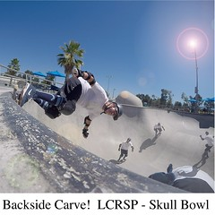 20160627 skull bowl (milesgehm) Tags: carve skatepark skate skateboard grind