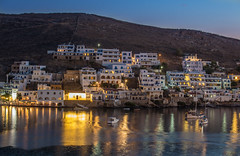 Blue hour (Vagelis Pikoulas) Tags: kythnos sea seascape kyklades island july summer 2016 holiday holidays view landscape canon 6d tamron 70200mm vc house houses white