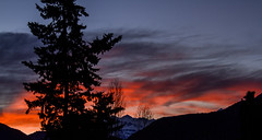 Amaneci (Volvtil) Tags: chile sky mountain colors clouds outdoor amanecer cajondelmaipo
