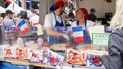Crepes anyone (Val in Sydney) Tags: france festival rouge sydney australia bleu blanc franch australie bbr