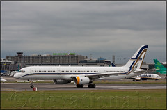 SX-RFA Boeing 757-23N(W) Gain jet (elevationair ✈) Tags: dublinairport dub eidw airliners airlines avgeek aviation arrival departure runway airplane plane gainjet boeing 757 752 boeing75723nw sxrfa