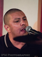 The Old Firm Casuals, 100 Club, London (IFM Photographic) Tags: img0705a canon 600d sigma70200mmf28exdgoshsm sigma70200mm sigma 70200mm f28 ex dg os hsm gig concert show livemusic london westminster cityofwestminster city 100club 100oxfordstreet oxfordstreet punk streetpunk oi punkrock humanpunk theoldfirmcasuals larsfrederiksen rancid