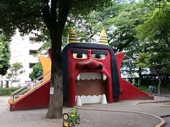 今日のポータル「オニ公園」@立川市 #INGRESS