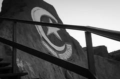 Canoa Quebrada (facundoroca) Tags: canoa quebrada blanco negro black white bn bw escalera baranda brasil aracati ceara nikon d5100