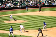 Play Ball! (Trevor Ducken) Tags: seattlemariners seattle baseball mlb sports nikond600 safecofield summer september 2015 primelens felixhernandez