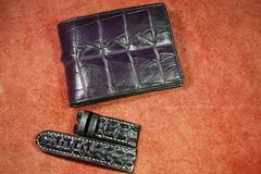 IMGP6395 (lelamminh) Tags: crocodile alligator watchstrap watchband wallet menbelt