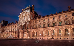 Pavillon Richelieu (XILAG Pictures) Tags: 1635 canon canonef1635mmf4lisusm dri dynamicrangeincrease ef1635mmf4lisusm idf iledefrance louvre night paris photoshop luminositymasks lightroom 70d
