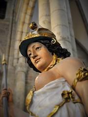 Pallas Athena vid Soopska gravmonumentet, Skara domkyrka (Bochum1805) Tags: athena soop pieterdekeyser skara amsterdam skulptur