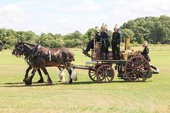 Horse Drawn Fire Engine - Explored (R.K.C. Photography) Tags: horsedrawnfireengine shuttleworthcollection edwardianpageant airshow canoneos100d england unitedkingdom uk bedfordshire