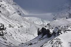 The tongue of the Vatnajkull glacier, Iceland (diana_robinson) Tags: iceland glacier southerniceland vatnajkullglacier