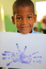 "Taller de ""Pintura y Foami"" (FundacionTropicalia) Tags: niños taller infantil dominicana creatividad pintura manualidades tropicalia educación fundación miches foami"
