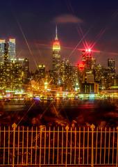 new york skyline from weehawken n.j. 9-20-14 126-2 (jlucierphoto) Tags: city color building apple night buildings lights big nikon neon skyscrapers state dusk cities empire gotham lites newyorkskylinefromweehawkennj92014